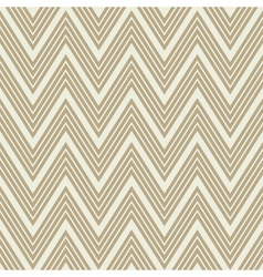 Seamless chevron pattern in retro style vector