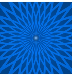 Abstract background with spiral blue rays vector