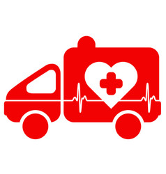 Ambulance emergency situation cardiology vector