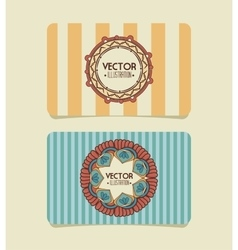 dream Catcher style frame icon vector image vector image