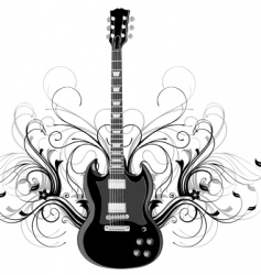 guitar legends vector image vector image
