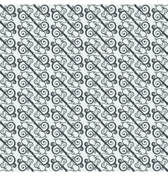Seamless pattern with geometrically arranged curls vector