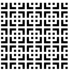 abstract seamless pattern background maze of vector image vector image