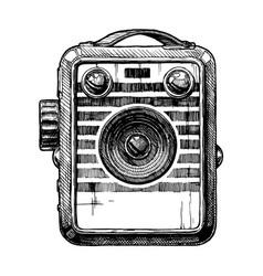 box camera vector image vector image