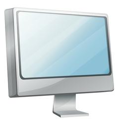 Monitor computer vector image