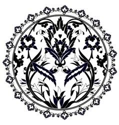 Ottoman motifs design series with twenty version vector
