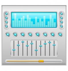 sound control vector image