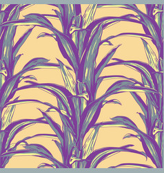 wedding seamless pattern design with exotic vector image vector image