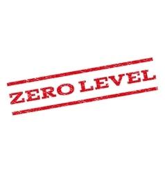 Zero level watermark stamp vector