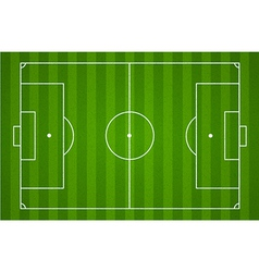 soccer field background vector image