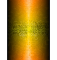 vibrant technical abstraction vector image vector image