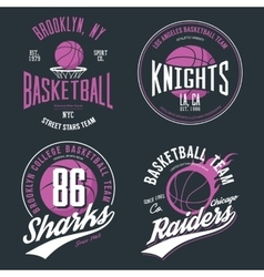 Basketball ball or sport game t-shirt design vector