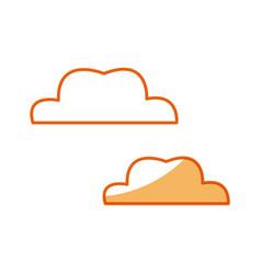 Cloud weather climate design vector