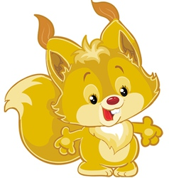 Little squirrel vector