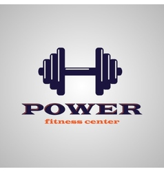 Fitness center vector