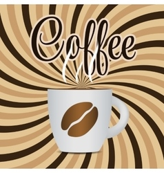 Coffee Template Background vector image vector image