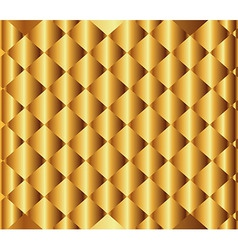 Golden Textured Background vector image
