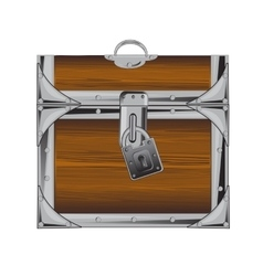Locked coffer vector