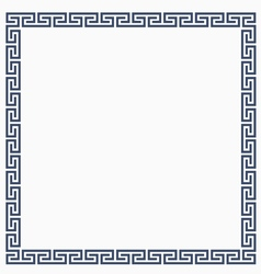 Greeke decorative frame for design vector