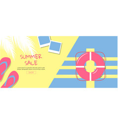 bright sweet fashion style hot summer vibes pop vector image vector image