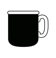 Coffee cup morning beverage fresh vector