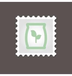 Fertilizer stamp outline vector