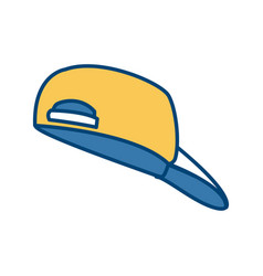 hat cap isolated vector image vector image