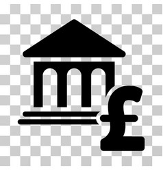 Museum pound payment icon vector