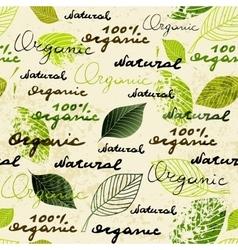 Organic and natural vector