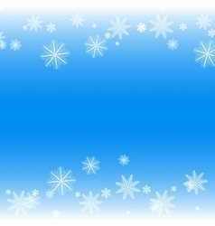 Simple but cute winter background vector