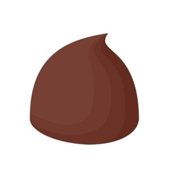 candy chocolate icon vector image