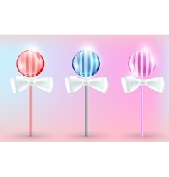 Image lollypops vector