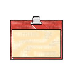card holder vector image