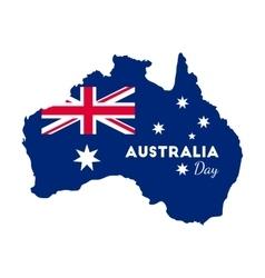 Happy australia day vector