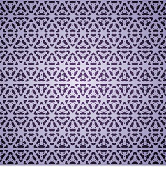 seamless with violet snowflakes vector image vector image