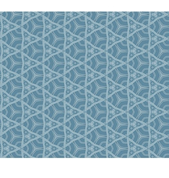 Abstract pattern blue vector