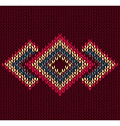 Style Abstract Trendy Seamless Symmetric Ethnic Ge vector image