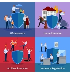 Personal And Property Insurance vector image