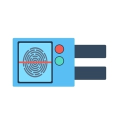 Door lock vector