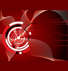 future detail vector image vector image