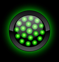 Led button vector