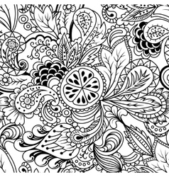 doodles vector image