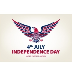 American eagle background easy to edit vector
