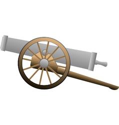 Medieval canon vector