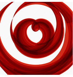 red heart shape wedding background vector image vector image