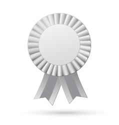 Ribbons award isolated on white background vector