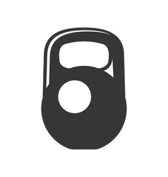 Weight icon on white background vector