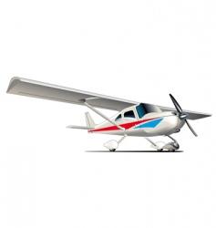 modern airplane vector image