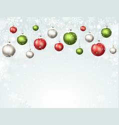 Holidays winter background vector
