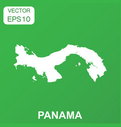 Panama map icon business concept panama pictogram vector